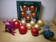 Weihnachtskugeln aus Glas
