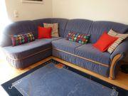 Couch mit Schlaffunktion und Stauraum