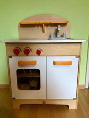 Hape Kinderküche aus Holz Spielküche