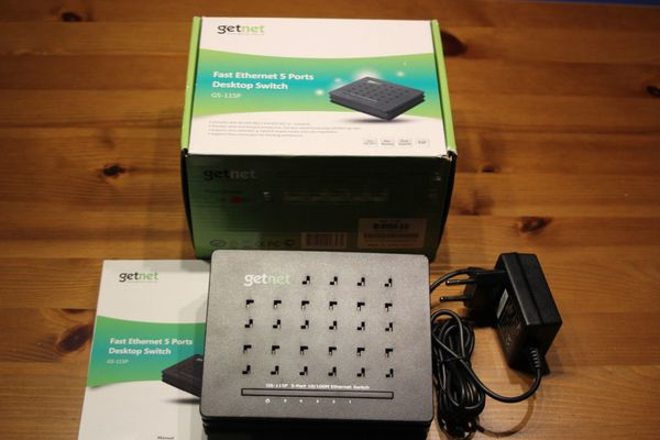 getnet 100Mbit Switch GS-115P
