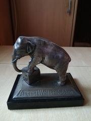 Bronzeelefant von 1912