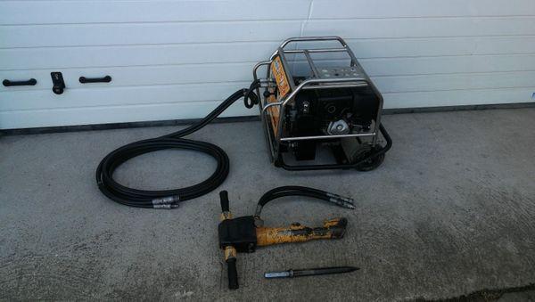 Hydraulikaggregat JCB Beaver Hydraulikabbruchhammer Honda