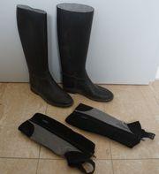 Reitstiefel schwarz Gr 36 Reitchaps