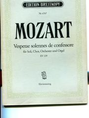 Mozart Vesperae solennes de confessore