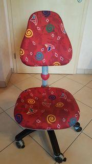 Kinder-Jugend Schreibtischstuhl mit Rollen