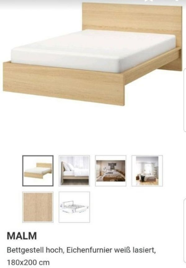Ikea Malm Bett Nachttisch Matratzen In Mosbach Betten Kaufen