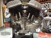 Harley Davidson Wlc Motor betriebsbereit