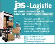 Transport von Möbel und Umzüge