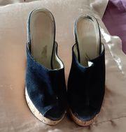 Damen Schuhe Gr 36 Kork