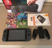 Nintendo Switch Konsole mit 2