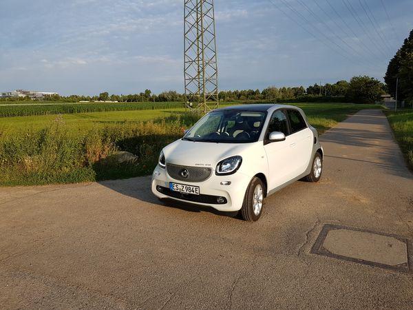 Elektro-Smart ForFour ed electric drive