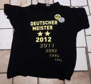 BVB T-Shirt Deutscher Meister 2012