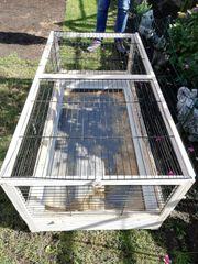 Kaninchen -Hasen Kleintierkäfig Stall gebraucht