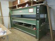 Furnierpresse HÖFER 90 Tonnen Pressdruck