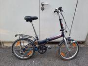 klapp Fahrrad 20 zoll