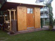 Baue Gartenhaus Gartenlaube Blockhäuser anbauten