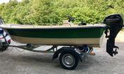 Motorboot 15 PS Mercury Motor