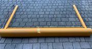 Außenrollo - gelb - ca 195cm breit