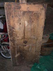 Uralte Holztüre