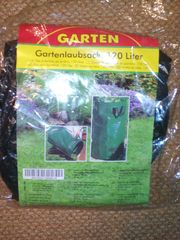 Gartenlaubsack 120Liter ungeöffnet nicht benutzt