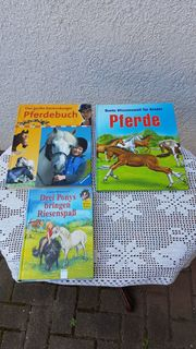 3er-Set Kinderbücher zum Thema Pferde