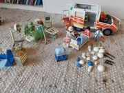Playmobil Krankenhaus Spital Rettungswagen Set