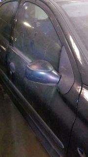 Peugeot 206 Tür schwarz blau