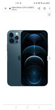 iPhone 12 pro max blau
