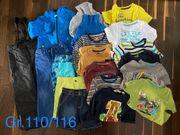 Kleiderpaket Gr 110 116