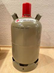 11 Kg Eigentumsflasche Gasflasche grau -