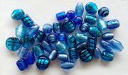 verschiedenfarbige Glasperlen für Schmuck