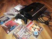 PS3 mit Spielen Top Zustand