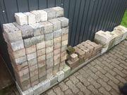 Pflastersteine Mauersteine Beeteinfassung