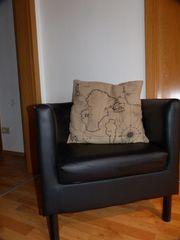 Sessel IKEA schwarz