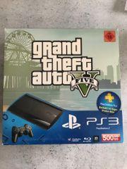 PS3 black 500GB mit 2