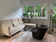Moderne Eckcouch beige Lounge-Stil