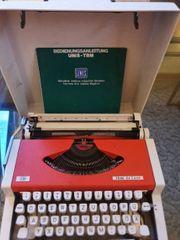 DDR Koffer-Schreibmaschine Unis tbm de