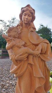 Maria Jesus Holzfigur handgeschnitzt