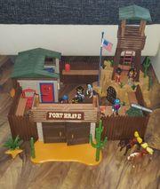 Playmobil 5245 Western Fort brave