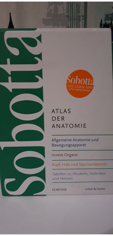 Sobotta Atlas der Anatomi