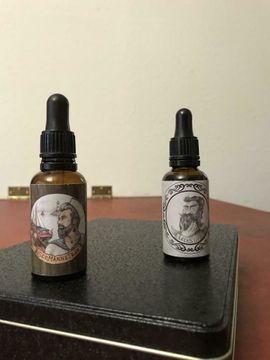 Kosmetik und Schönheit - Fettstube Bartöl Vegan Lockstoff und