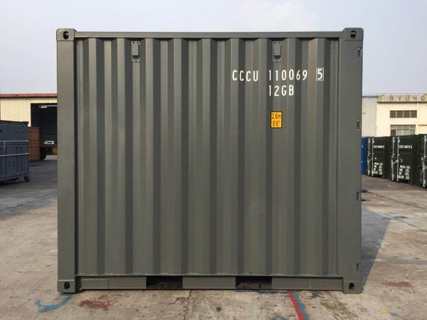 10 Fuß Seecontainer Lagercontainer Modulbau