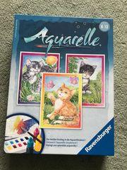 Ravensburger Aquarelle Katzen Bilder zum