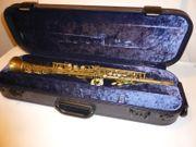 Borgani Straight Vintage Sopransaxophon