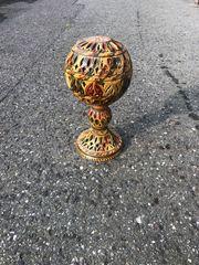 Deco Porzellan Ball Ständer marokanisches