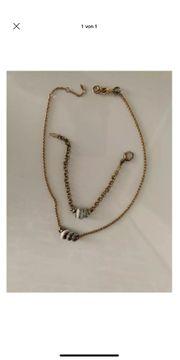 Fossil Damen Armband und Halskette