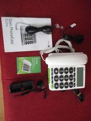 Senioren-Telefon Schnur schwed Qualitätsprodukt