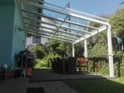 Terrassendach Terrassenüberdachung Balkonüberdachung Überdachung Alu