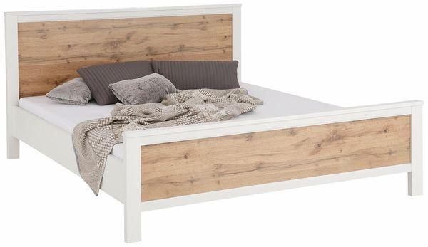 NEU Bett 200x200 Bettgestell Doppelbett Schlafzimmer-Bett in ...