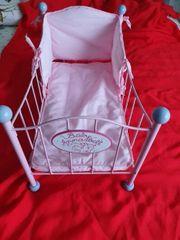 Baby Annabell Puppenbett rosa zvk